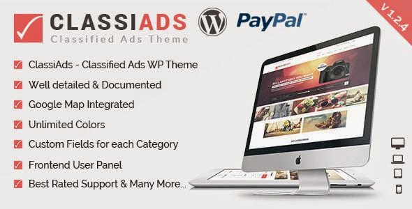 Best Classified Ads WordPress Theme 2015