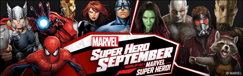 'Marvel Super Hero September'