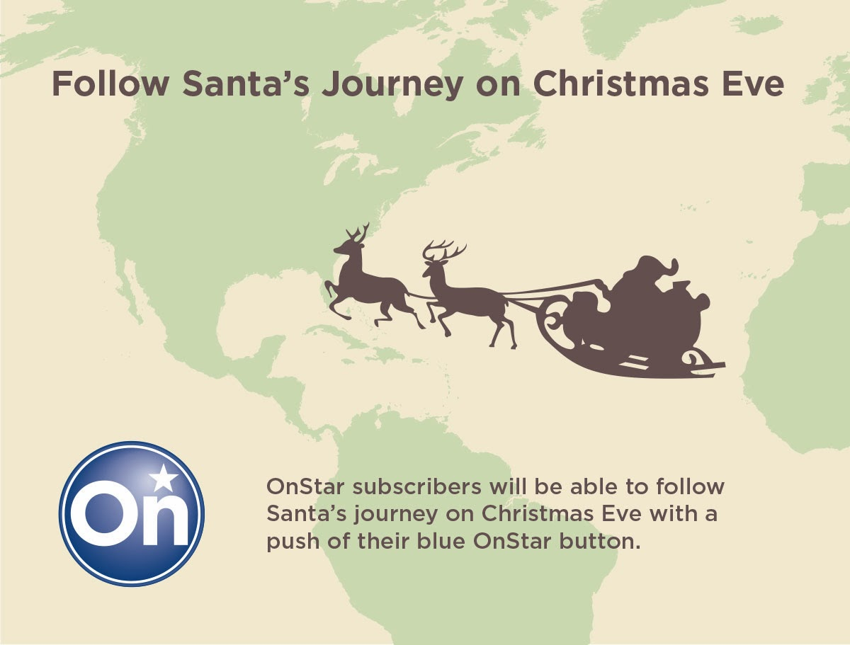 Santa's Christmas Journey on OnStar