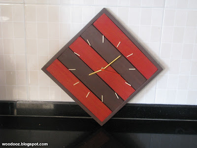 DIY custom-made wall clock
