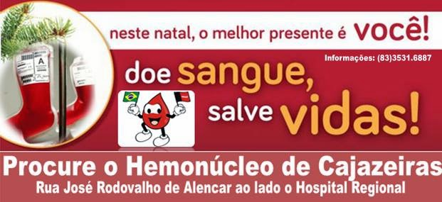 Doe sangue! Salve vidas!