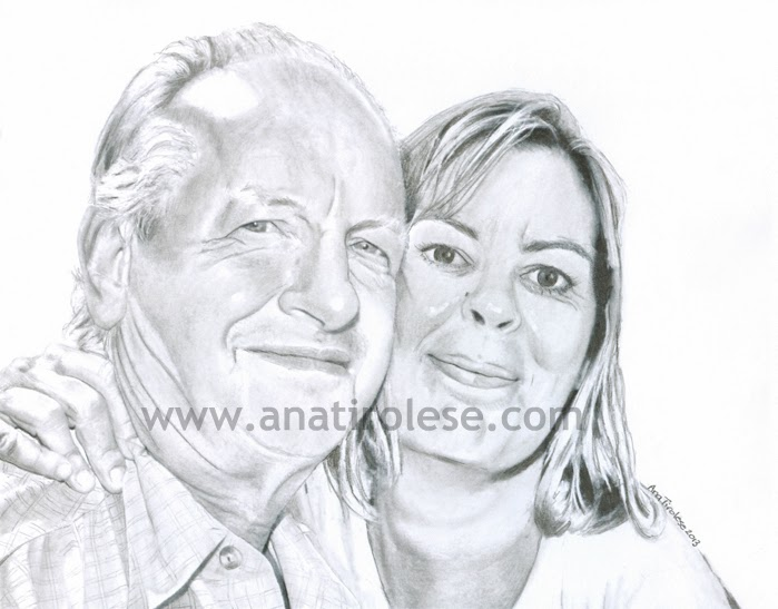 By Ana Tirolese ©2013 Copyright, All Rights Reserved.Graphite on Paper