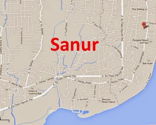 Sanur, prostitution center