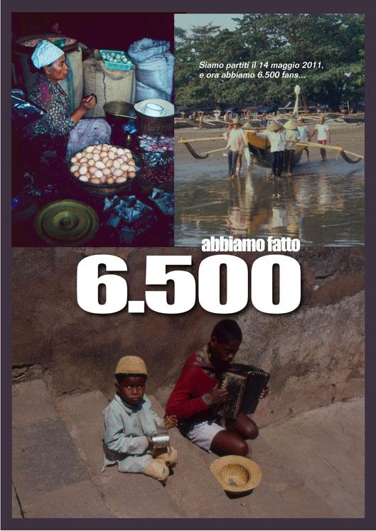 """6.500 FAN DI """"SULLE VIE DEL MONDO"""""""