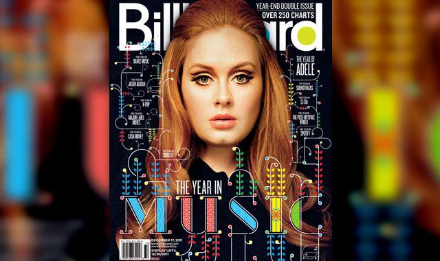 Adele é eleita Artista do Ano