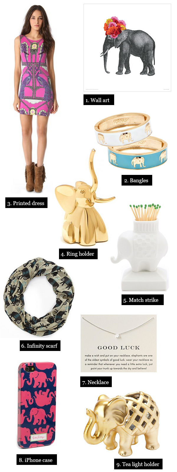 9 Adorable Elephant Finds