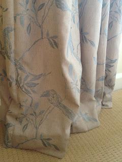 Dunelm Songbird curtains