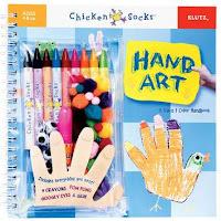 Hand Art (Chicken Socks) by Klutz