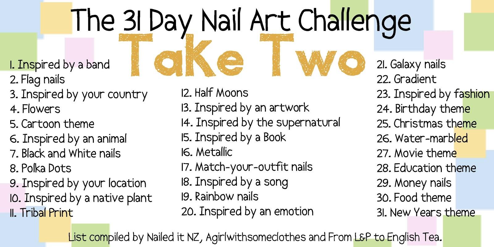31 Day Nail Art Challenge