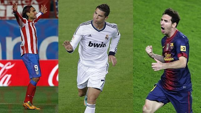 Las diferencias entre Falcao, Cristiano y Messi