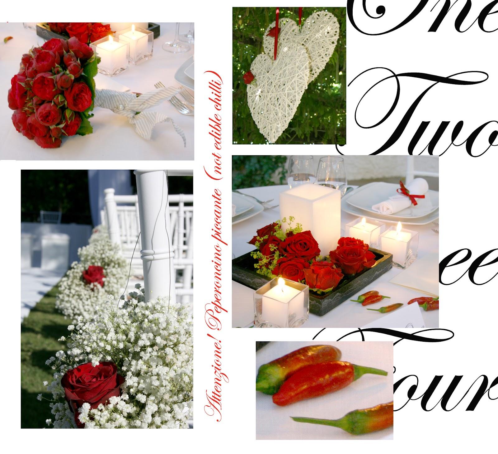 Matrimonio In Bianco E Rosso : Loby wedding events matrimonio in bianco e rosso