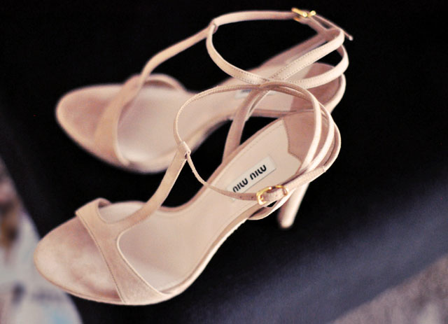 miu miu shoes, blush t-strap sandals, heels