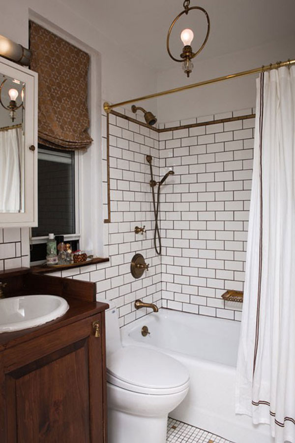 Small Bathroom Remodeling Subway Tile