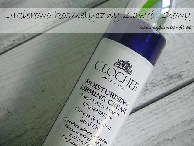 Clochee naturalny krem nawilżająco-ujędrniający moisturising firming cream