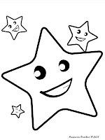 Koleksi Gambar Bintang Untuk Diwarnai
