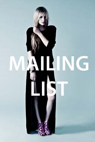 MAILING LIST