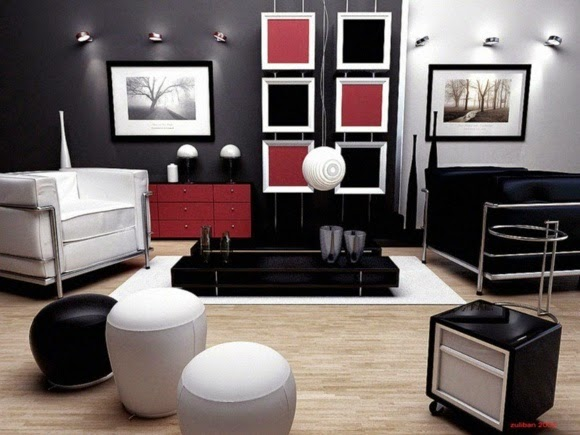 modern living room color schemes contemporary living room - Contemporary Color Scheme