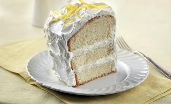 Gâteau Mousseline A La Crème Citronnée