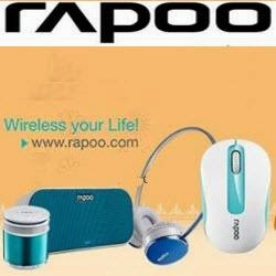 Amazon: Buy Rapoo Computer Accessories upto 73% off from Rs.198