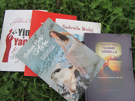 "Autrice di 5 libri tra cui ""AURA.Autobiografia di una Sacerdotessa"", ""FIAMME GEMELLE""e vari e-book"