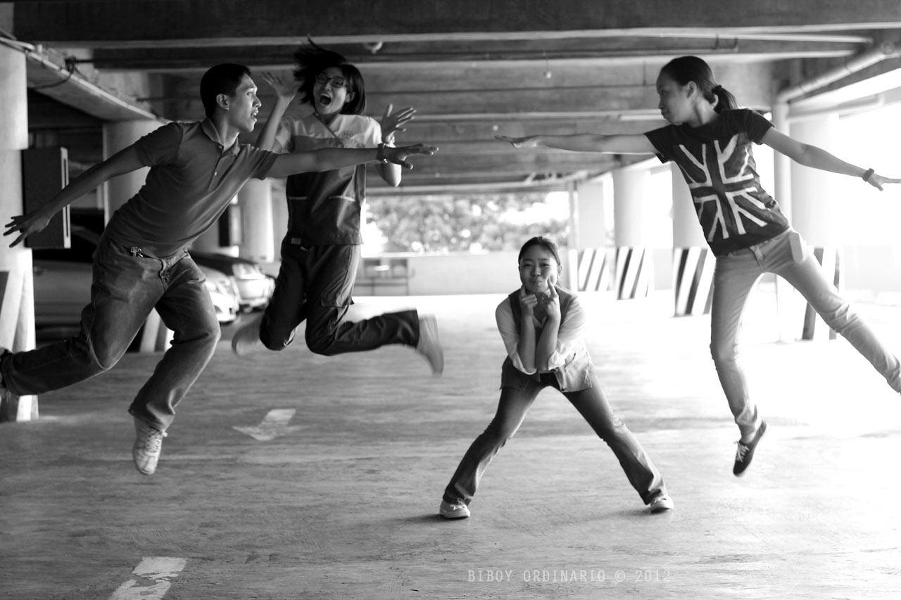 Levitation photo fun nurses