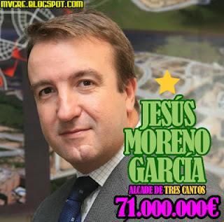 ALCALDE DE TRES CANTOS JESUS MORENO GARCIA