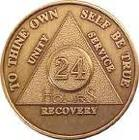 Alcoholics Anonymous newcomer welcome chip
