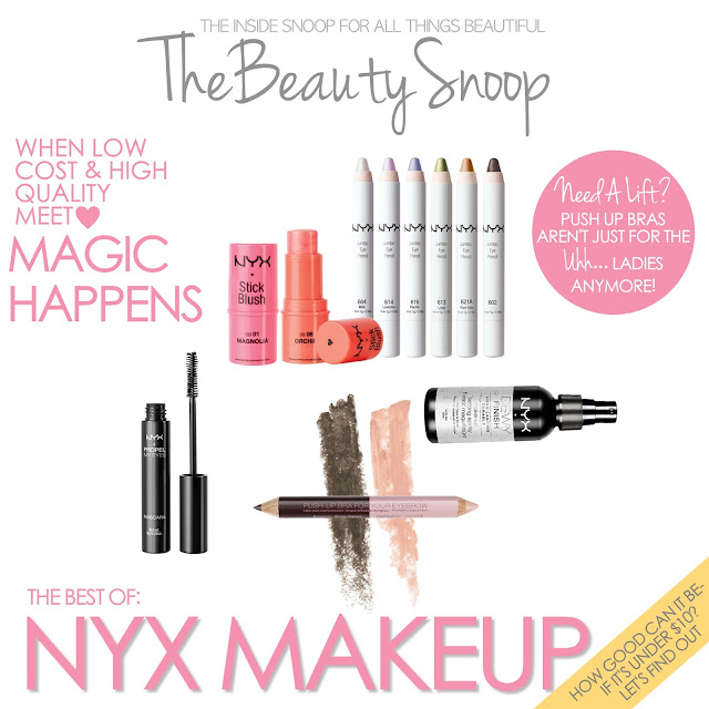 NYX makeup, gotbeauty.com, The Best NYX makeup, cheap makeup brands