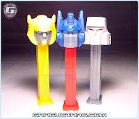 Transformers PEZ おもちゃ トランスフォーマー G1 Optimus Prime Bumblebee Megatron コンボイ メガトロン