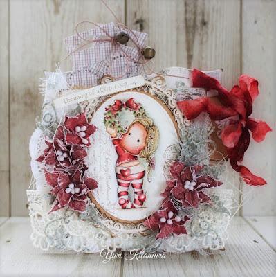 Magnolia Stamps Aspen Holidays Happy 2017 Tilda