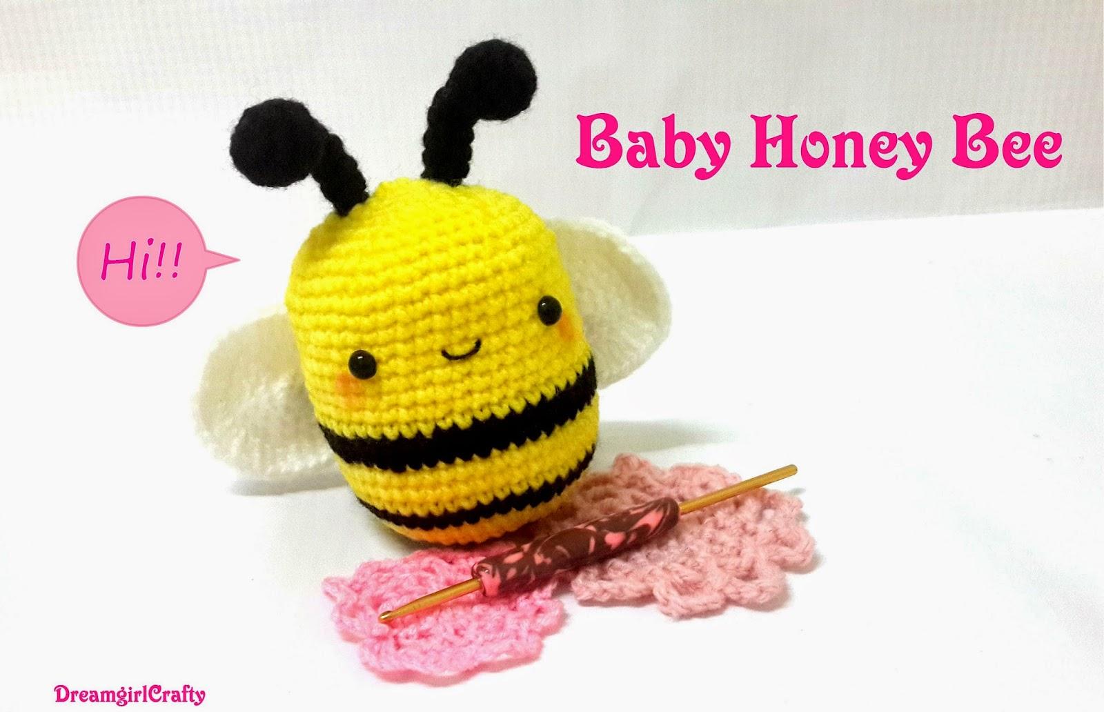 Dreamy Kawaii Crafts Creations : Baby Honey Bee Free Pattern