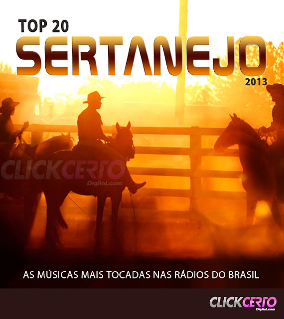 CD Top 20 Sertanejo (2013)