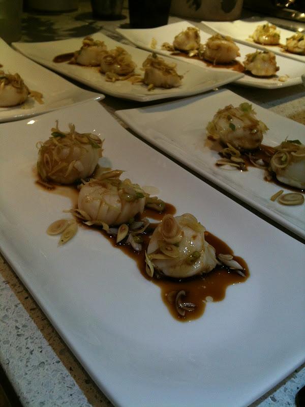 Dom cuisine saint jacques vapeur aux saveurs asiatiques - Cuisine asiatique vapeur ...