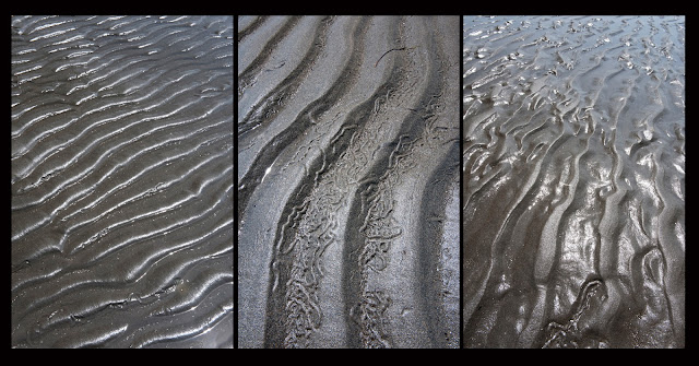 Nova Scotia; Triptych; Sand; Beach
