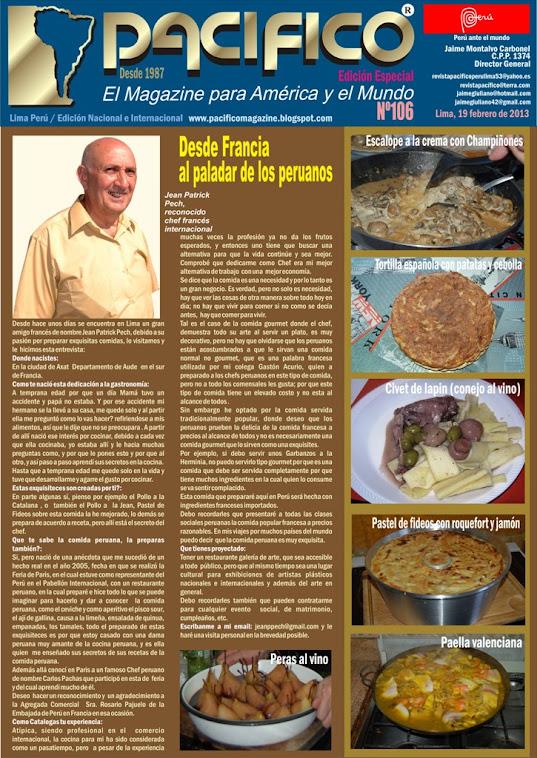 Revista Pacífico Nº 106 Edición Especial