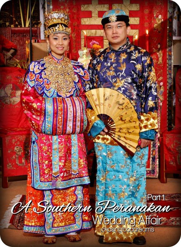 Chasing Food Dreams A Southern Peranakan Wedding Affair
