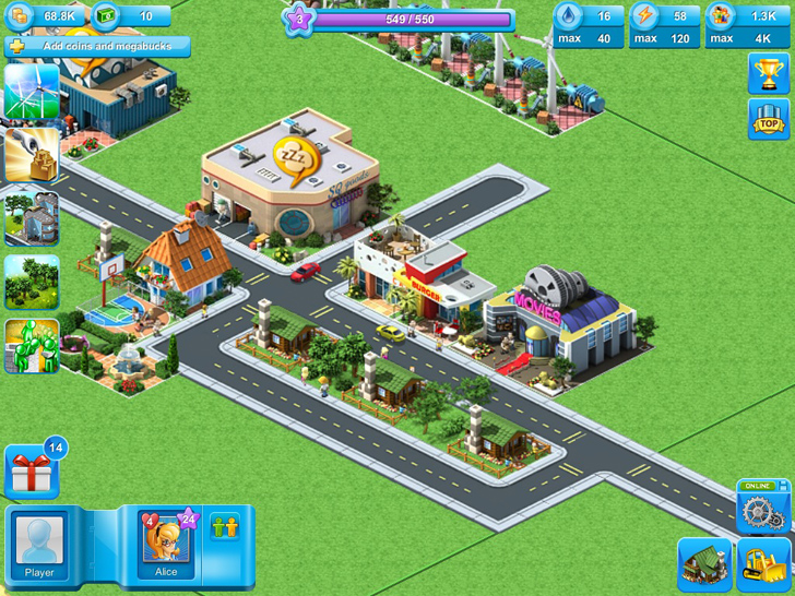 Megapolis Free App Game By Social Quantum