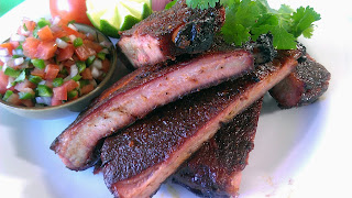 Grilled Ribs with Pico de Gallo Recipe | Healthy Pork Recipe