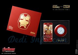 Penampakan Samsung S6 Iron Man