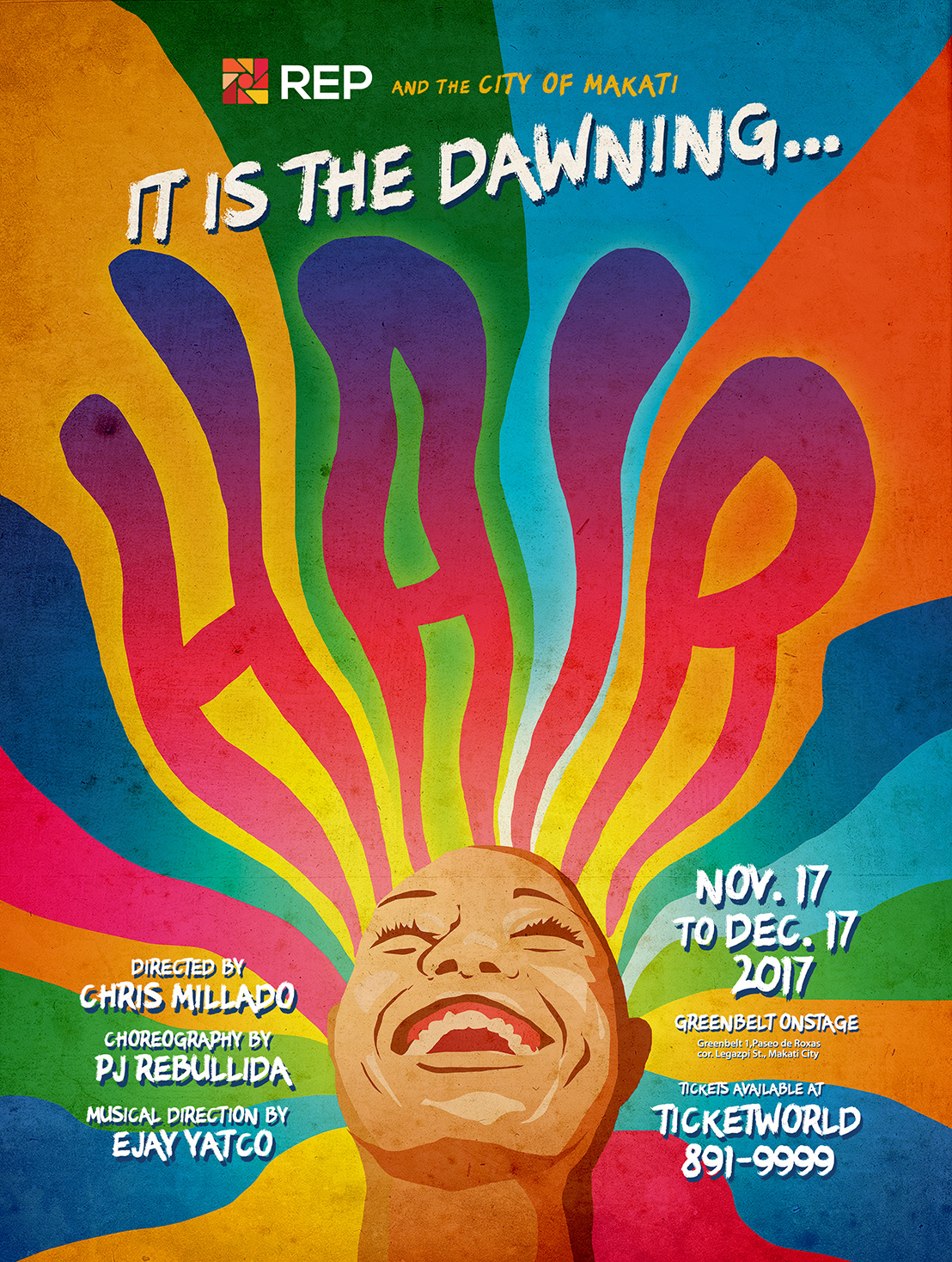Love, Peace, and Rock 'n' Roll as REP stages Hair this November