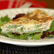 Asparagus and Leek Frittata