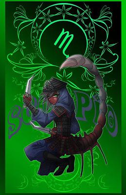 escorpio ser elemental anime