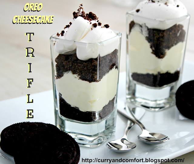 Kitchen Simmer Oreo Cheesecake Trifles Throwback Thursdays