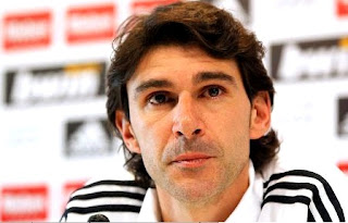 Aitor Karanka in Villarreal press conference