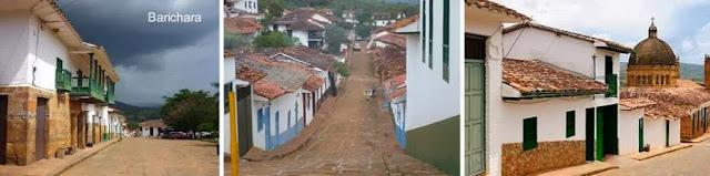 Tres fotos de Barichara - Santander - Colombia