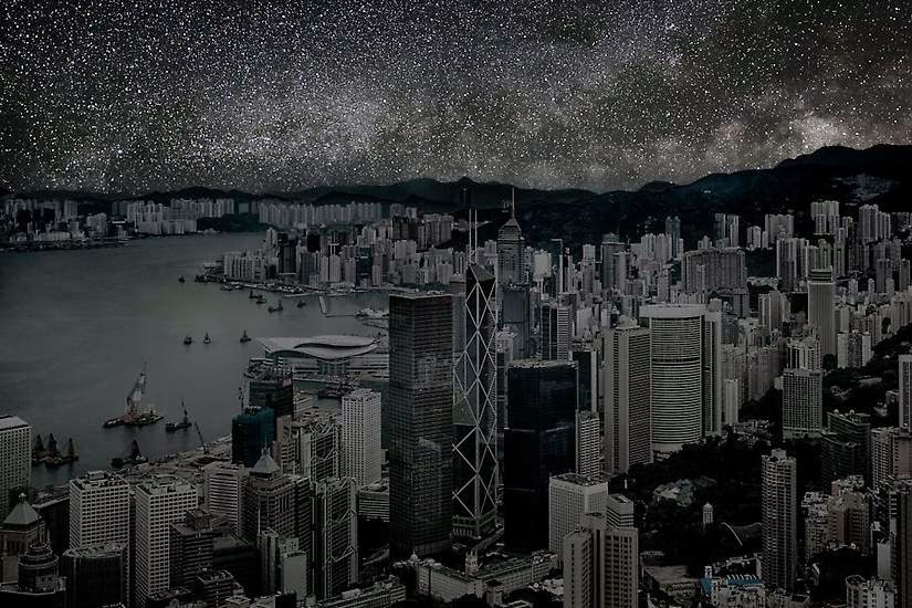 Hong Kong - You'll Never Look at the Night Sky in the Same Way
