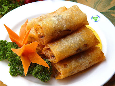 Learn Cooking Easy: Chinese Spring Roll Recipe