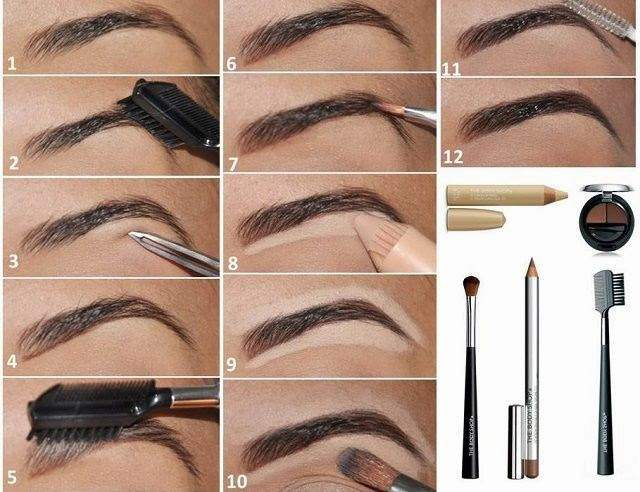 How To Perfectly Shape Your Eyebrow - Makeup Tutorial - Entertainment ...