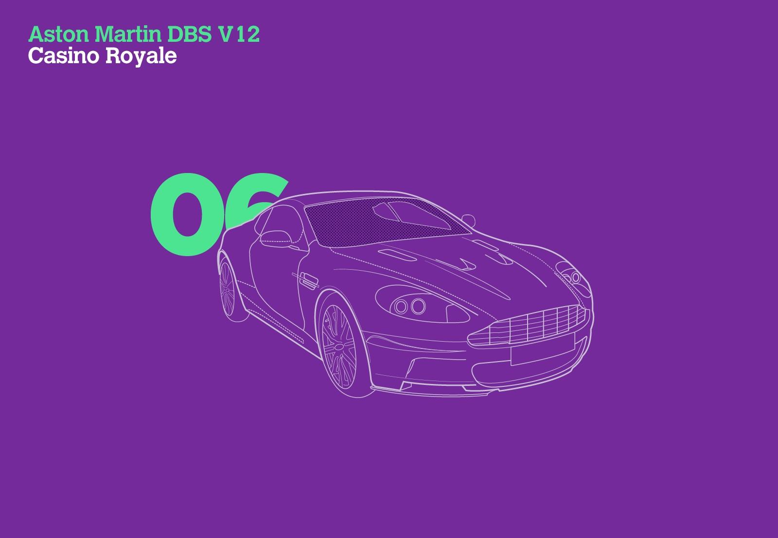Aston Martin DBS V12 Casino Royale