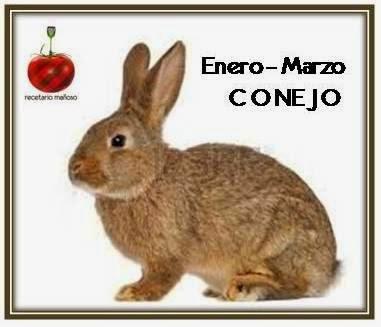 Enero-Marzo: conejo